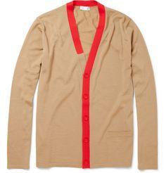 Balenciaga contrast trim cardigan
