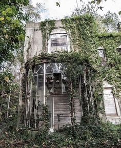 What was once gorgeous, is now abandoned.