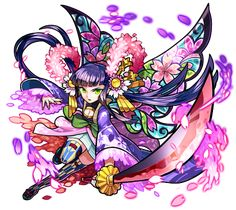 Monster Strike, Game Character, Character Concept, Character Design, Brave Frontier, Game Effect, First Contact, Fantastic Art, Tentacle