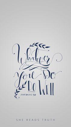 Ecclesiastes 9:10