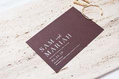 Wedding Stationery - Event - Wedding - Simplistic - Minimal Design - Invitation - Invite - Bride - Bridal - Groom Wedding Stationery, Wedding Invitations, Minimal Design, Groom, Photo And Video, Bride, Instagram, Minimalist Design, Wedding Bride