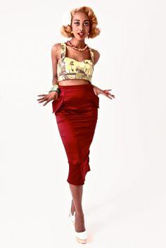 Tara Starlet   Hourglass Skirt