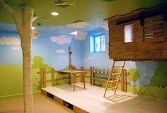 quartos de menina com casinha -