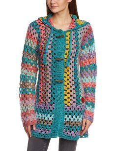 Khujo 1135KN151 - Jersey de punto, con manga larga para mujer: Amazon.es: Ropa y accesorios