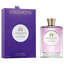 Buy Atkinsons Love in Idle Eau de Toilette, 100ml Online at johnlewis.com