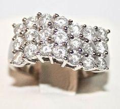 STUNNING 14K WHITE GOLD 2.52CT DIAMOND RING