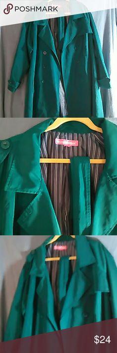 Emerald Green jacket 2X plus 2X plus , emerald green jacket Women Within Jackets & Coats Utility Jackets