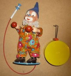 Sonni-Boxed-Vintage-Clown-Toy-Made-In-GDR