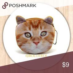 Cat Coin Bag 😺 Cat Coin Bag  😺 Material: Plush  😺 Size: 12*10cm/4.7*3.9 inch  😺 Closure: Zipper  ❌ No trades Bags Mini Bags