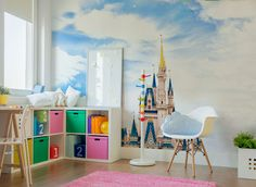 Fairy Tale Castle Wall Mural
