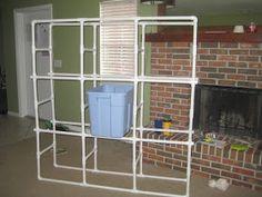 This Frugal Momma DIY Storage Box / Garage Organizer & DIY Saturday u2013 PVC Tote Storage Organizer | Dream Home | Pinterest ...