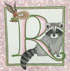 Mr. Racoon - artwork by Claire6374