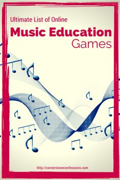 Ultimate List of Online #Music Education Games #onlineeducationgames