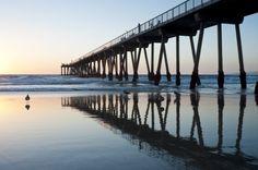 Hermosa Beach, en Los Angeles, Estados Unidos