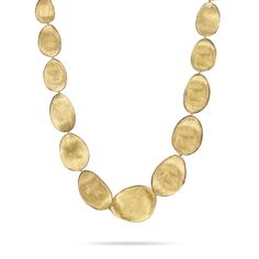 Lunaria 18K Gold Collar Necklace