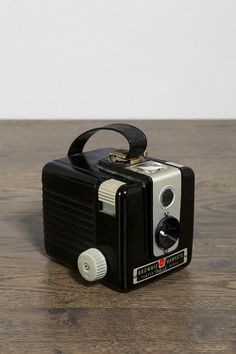 This is the camera that taught me that photography is magic. It is the first camera I remember using. Vintage Kodak Brownie Hawkeye Camera