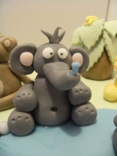 Icing elephant Bear Cakes, Icing, Elephant, Elephants