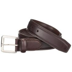 RedHead Chino Belt for Men - Brown - 48 Brown Leather Belt, Leather Belts, Cowhide Leather, Metal Buckles, Dress Casual, Belt For Men, Redheads, Mens Fashion, Men's Clothing