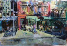 Soho, New York. 81x54 Soho, New York, Painting, Art, Art Background, New York City, Painting Art, Kunst, Paintings