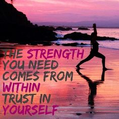 Yogalates can give you physical, mental & emotional strength.