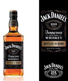 Jack Daniel's, Bottled - In - Bond. Jack Daniels Bourbon, Jack Daniels Bottle, Modern Aprons, Alcoholic Drinks, Cocktails, Beer Food, Beer Recipes, Worlds Of Fun, Distillery