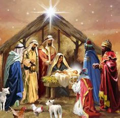 Holy family and the Three Wise Men luncheon paper napkins. Details: Set of 20 lunch paper napkins x (Open 13 x Three-ply, bleached without Chlorine Made in The Netherlands Christmas Nativity Scene, Christmas Scenes, Noel Christmas, Vintage Christmas Cards, Christmas Pictures, Christmas Greetings, The Nativity, Nativity Scenes, Christmas Collage
