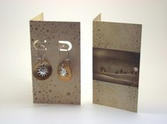 Holiday Earring Cards.