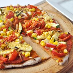 Speedy chia + buckwheat pizza crust for gluten-free diets or just to try something new!   including cake
