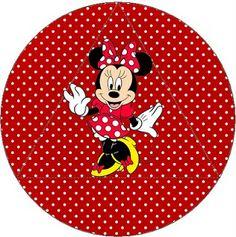 Kit Completo Minnie Vermelha - com molduras para convites, rótulos de guloseimas, lembrancinhas e imagens  Fazendo a Nossa Festa Mickey Mouse Birthday, Minnie Mouse Party, Disney Printables, Party Printables, Minnie Mouse Roja, Disney Divas, Ideas Para Fiestas, Disney Scrapbook, Disney Cartoons