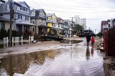 Aftermath, Hurricane Sandy...FLOODING