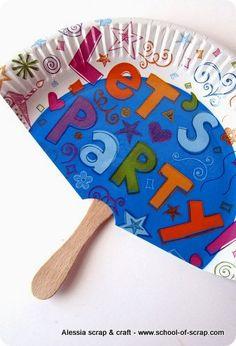 Feste d'estate: ventagli faidate per gli invitati al party