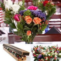 Costco Wedding Gift Ideas : Mason jars with Costco mini bouquet. LOVE. IT. When I get to change ...