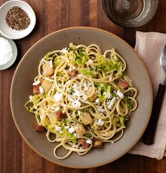 Chef Amaryll Schwertner's Egg Noodles With Braised Cabbage, Bacon and Potatoes