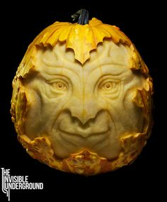 Gillydu - Yellow pumpkin sculpture created for the 6th annual Artumnal Gathering for the Black Rock Arts Foundation.