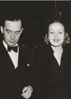 Erich Maria Remarque with Marlene Dietrich