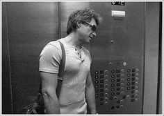 Imagine you were stuck in a lift with him ...keep picturing the 50 shades  elevator scene. .ok time for a cold shower