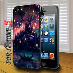 lantern disney tangled Black Case for iphone 5