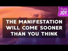 Abraham Hicks The Manifestation Will Come Sooner Than You Think! - YouTube
