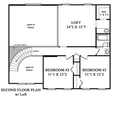 Sunbury Model Maronda Homes. Second Floor