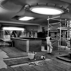 The new bar takes shape