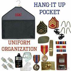 Hang up pocket