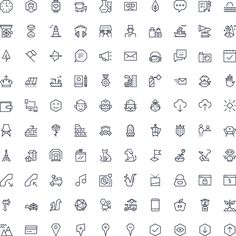 Free Vector App Icons: http://ego-icons.com/