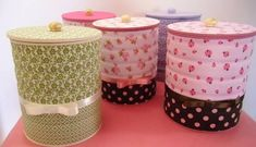 DIY: Decorative Kitchen Utensils Containers