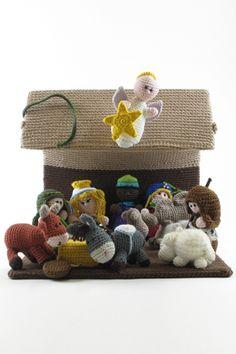 Il presepe - tutti i personaggi - Trichi | Maglia, uncinetto, lavori femminili - pattern e libri - lane e accessori