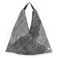 SOU • SOU US Online Store » Furoshiki Tote bag Dots and Stripes