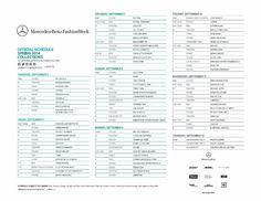 Mercedes Benz Fashion Week in New York City – Schedule SS14 - olschis-world