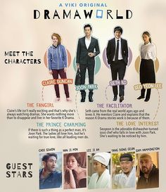 Meet the stars of #Dramaworld!