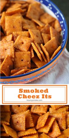 This Smoked Cheez Its recipe is perfect for snacking any time of the day or night. Fire up the grill and smoke these tasty crackers for your next party or tailgating event. #smoked #cheezits #crackers #snack #munchies #recipe #grill #smoker Summer Grilling Recipes, Barbecue Recipes, Summer Recipes, Cheez It Recipe, Tailgate Food, Tailgating, Outdoor Cooking Recipes, Most Popular Recipes, Favorite Recipes