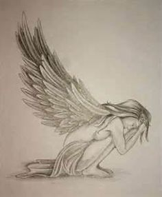 Like these angel wings for my tattoo with survivor ribbon in middle and kids names written in wings...can't wait! Lets go Lisa!