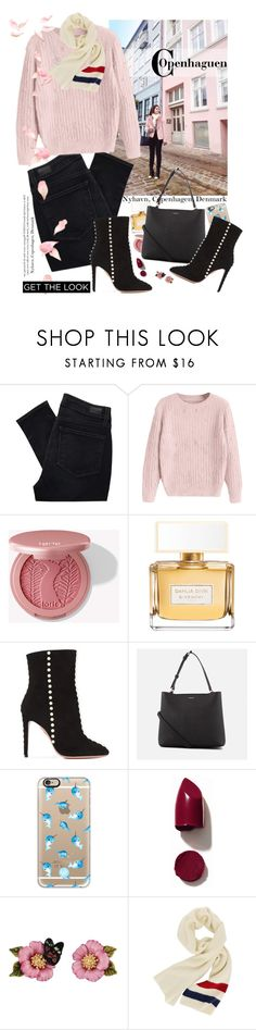 """🚢 Nyhavn"" by gabyidc ❤ liked on Polyvore featuring Paige Denim, tarte, Givenchy, Aquazzura, DKNY, Casetify, NARS Cosmetics, Les Néréides, Thomas Sabo and casual"